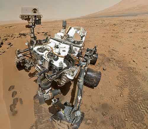 The Mars Curiosity rover