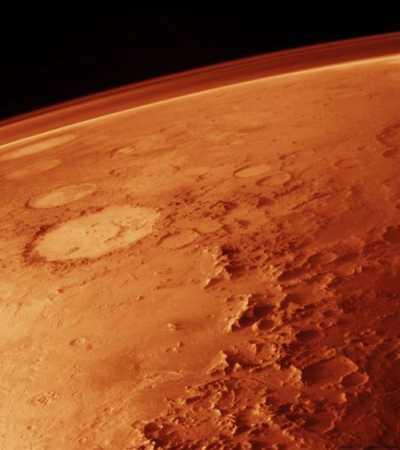 Mars' atmosphere