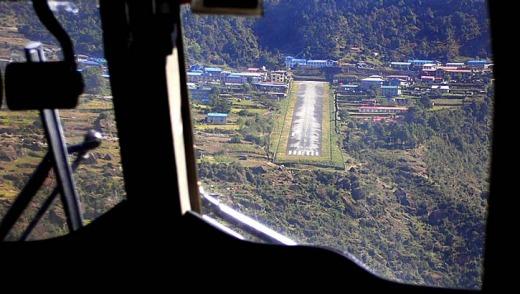 Lukla-airport-landing