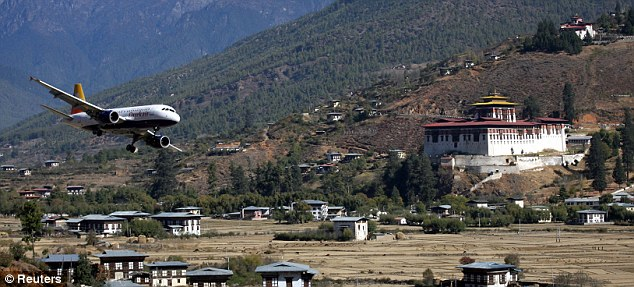 Paro-Airport- Bhutan