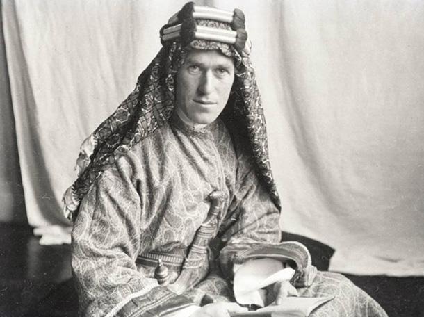 T.E. Lawrence (Wikimedia)