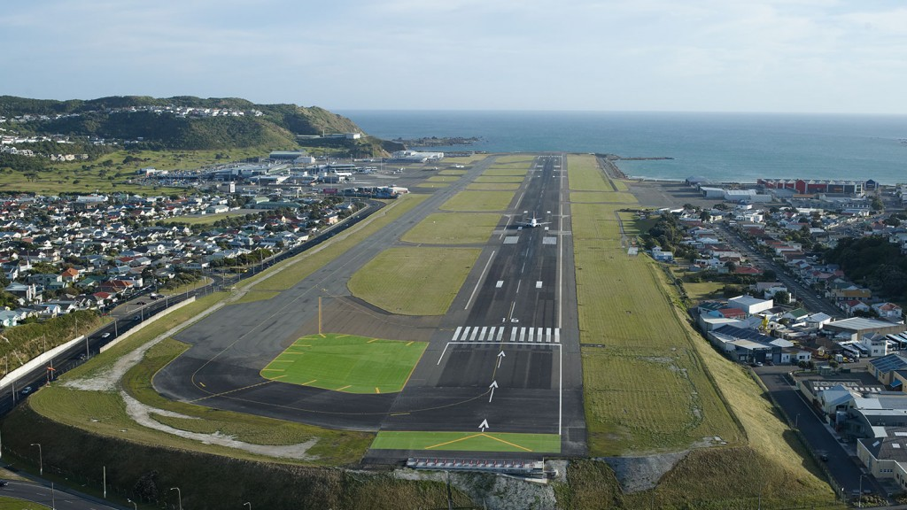 Wellington-International-Airport-New Zealand