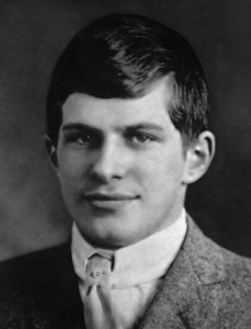 William James Sidis' Harvard graduation photo