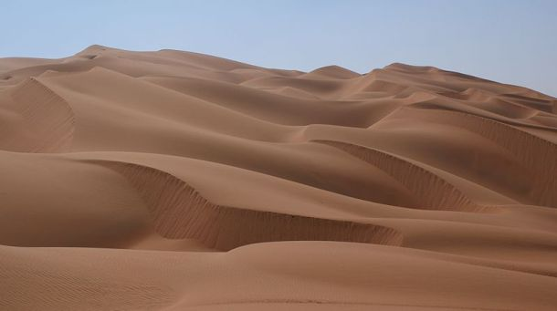 Sand dunes in Rub' al Khali