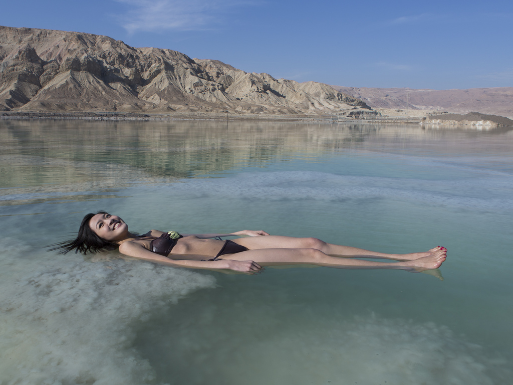 Where is the dead sea 100