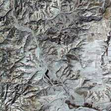 great wall of china satellite