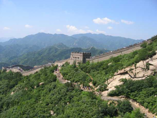 great wall of china today
