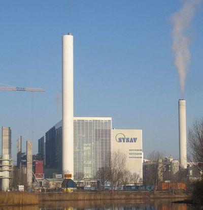 incineration plant
