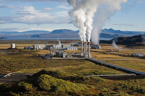 Nesjavellir Power Plant in Iceland