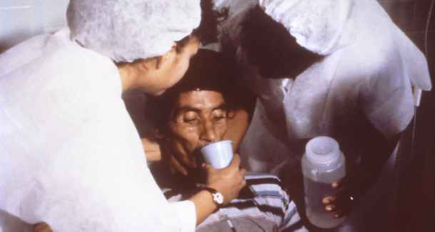 Nurses Rehydrate a Dehydrated Patient