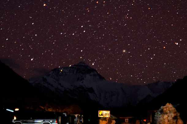 A Starry Night At Mount Everest
